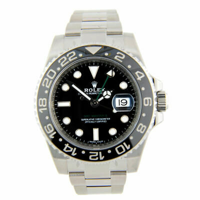 $ CDN13999 • Buy 2013 ROLEX 40mm GMT Master II 116710LN. In Mint Condition
