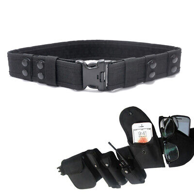 Quick Release Heavy Duty Belt Police Army Security Guard Paramedic Utility Belt • 5.33£