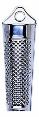 Stainless Steel Mini Grater Nutmeg Spice Lemon Zester Cheese Ginger With Storage • 2.92£