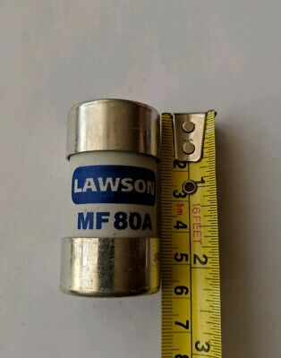 Lawson MF80A Cut Out Fuse - 80 Amp BS88 • 2.50£