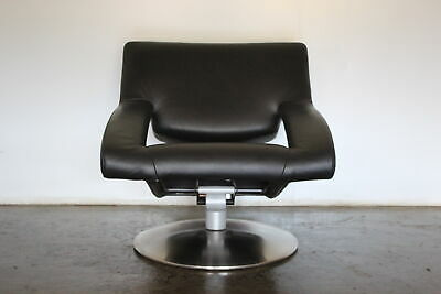 Sensational Rare Immaculate De Sede DS255/01 Reclining Armchair In Black Leather • 1,900£