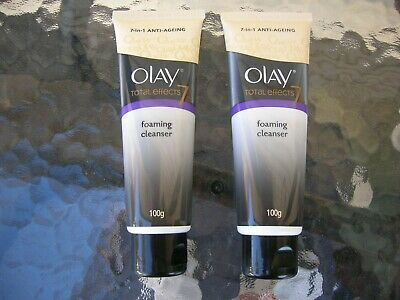 AU30.03 • Buy Olay Total Effects 7 In 1 Anti Ageing Cleanser 100g Set Of 2 Tubes