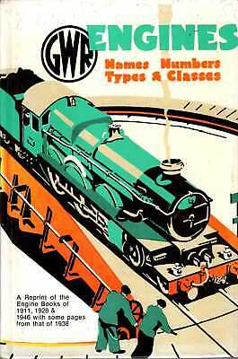 Anon GWR (GREAT WESTERN RAILWAY) ENGINES: NAMES, NUMBERS, TYPES AND CLASSES, A R • 7.65£