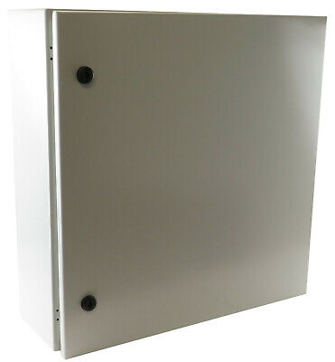 "C/&I Electric Enclosure  24/""x24/""x8/""  Lock Door w// Padlock Rainproof 3R UL NEMA"