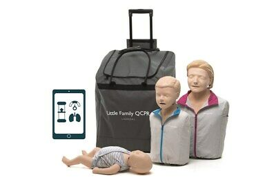 Anne -Little Family QCPR Training Manikins With Wheeled Bag - NEW • 652.20£