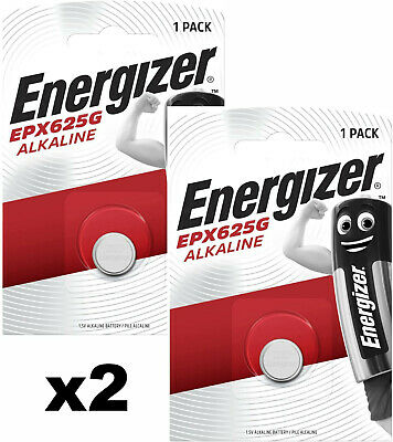 2 X Battery 625 G Energizer Px 625 To LR9 EPX6250 Alkaline 625A Batteries • 9.02£