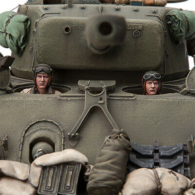 SOL RESIN FACTORY, WWII U.S. Tank Crew 6 (2 FIGURES), MM203, SCALE 1:16 • 37.74£