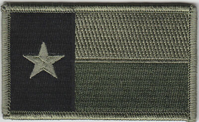 $5.99 • Buy Texas Military Patch Military OD Green / Reversed Army Guard Free Magpul Sticker