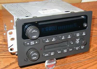 $235 • Buy UNLOCKED Radio 03-2006 GMC Sierra CHEVY Silverado Tahoe CD Cassette Tape Player
