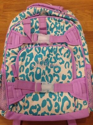 £18.70 • Buy Pottery Barn Mckenzie Backpack Size Small New Without Tags.  Monogram- McKenna