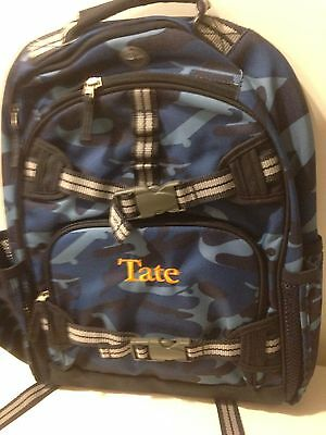 £35.10 • Buy New! Pottery Barn Lunch Box And Mckenzie Backpack Size Large Monogram- Tate