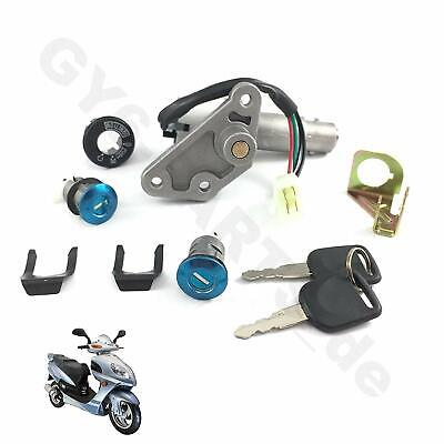 AU29.66 • Buy Ignition Key Lock Set Gy6 Chinese Scooter Moped 4 Wire 50-150cc Vip Znen Lance