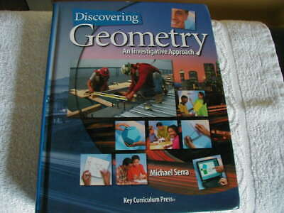 $13.83 • Buy Discovering Geometry: An Investigative Approach