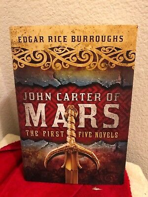 $14 • Buy Edgar Rice Burroughs... John Carter Of MARS: The First Five Novels (2013)