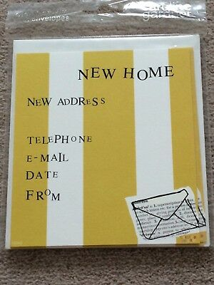 New Home Cards (Pack Of 8 With Envelopes) By Caroline Gardener • 1.79£
