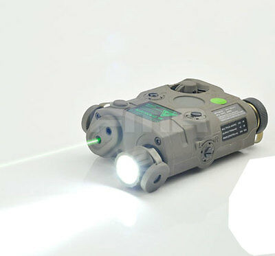 FMA PEQ-15 Upgrade Version  LED White Light + Green Laser With IR Lenses FG 0071 • 50.99£