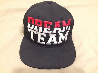 9ae20f3b22f7f6 DREAM TEAM By BREEZY EXCURSION Basketball SNAPBACK Hat USA Barcelona 1992  Cap • 23.99