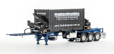 £53.66 • Buy WSI 04-2000 25 FT Tank Container VTG Tanktainer Trailer Load 1:50 Scale
