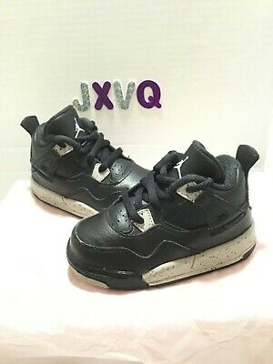 712fb6ba2c8e Nike Air Jordan Retro 4 IV Oreo TD Toddler Size 6c • 20.00