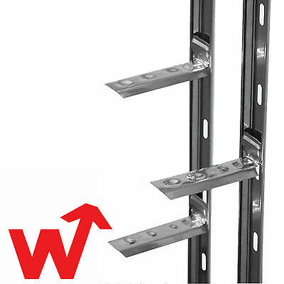 Wall Starter Kit Catnic Stronghold Stainless Steel X20  2.4M(Ties & Fixings INC) • 95.45£