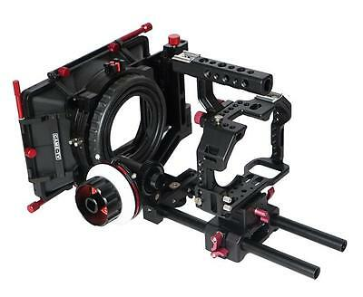 $ CDN969.91 • Buy CAME-TV Sony A7S Rigs W/ Mattebox Follow Focus