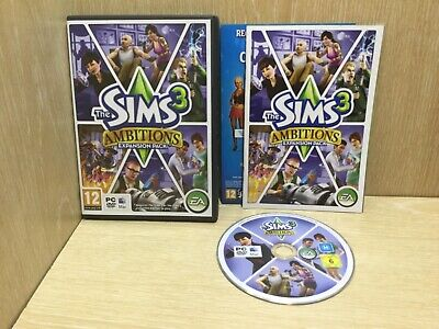 The Sims 3 Ambitions Expansion Pack PC Game  • 4.99£