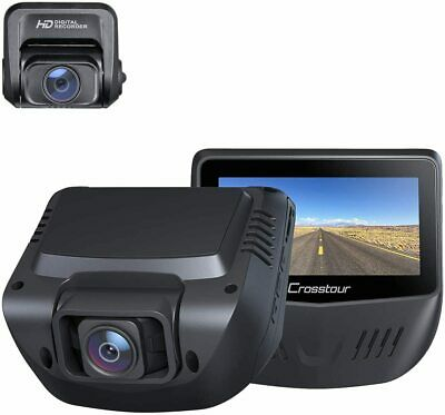 AU260.65 • Buy Dual Dash Cam, Front And Rear 1080P Dash Camera For Cars, Optional GPS, 170° Wid