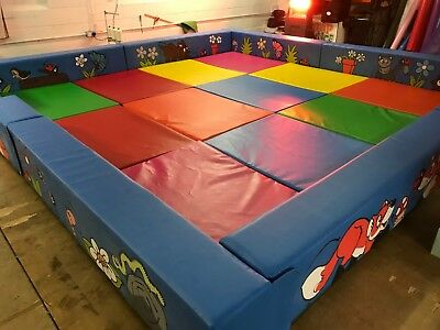 £1695 • Buy SOFT PLAY  Boundary Incl  Mats  Artwork Can Be Themed. Made To Order