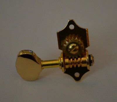 $7.99 • Buy New Gold Classic Acoustic Guitar Tuner High Quality Peg Knob & Screws