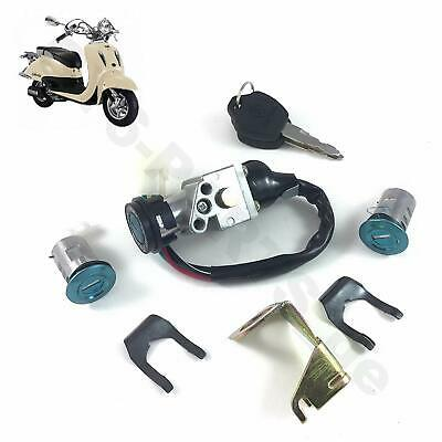 AU16.43 • Buy Key Ignition Lock Set Gy6 Chinese Scooter Yy50qt21 Yy125t-19 Znen Ssr Tng Bello