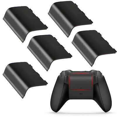 $5.89 • Buy 5 Xbox One Battery Cover Back Lid Wireless Controller Replacement Black