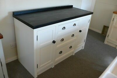 Handmade Freestanding Kitchen Base Unit With Drawers Painted In Your Colour. • 940£