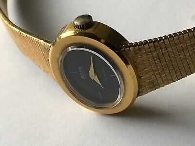 Sicura Incabloc, 17 Jewels, Hand Wound, Ana Vintage Lds SwissWatch • 70£
