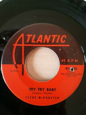 £19.99 • Buy Clyde McPhatter - Try Try Baby - Atlantic Records 2028