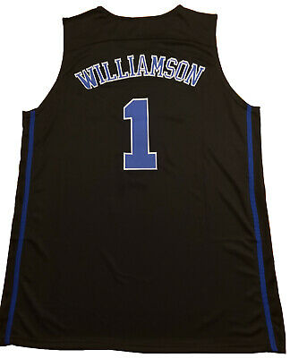 f133b23cc05 KOOY Zion Williamson  1 Duke Blue Devils College Basketball Jersey Men  STITCHED • 19.98