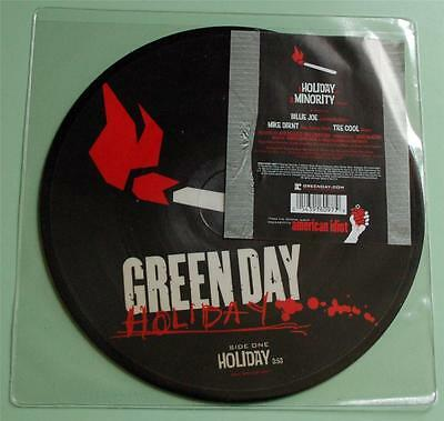Green Day - Minority - 2005 UK Picture Disc 7  Single • 20£