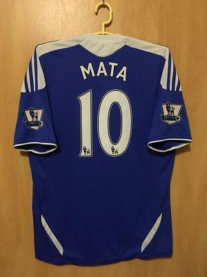 Chelsea London 2011/2012 Home Football Shirt Jersey Juan Mata #10 • 59.99£