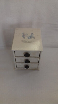 Small Box Of 3 Drawers Storage Pictures In The Post  • 10£