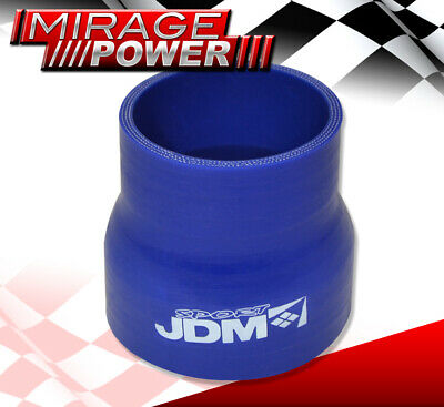 AU23.21 • Buy 2.5  To 3  JDM Sport Reducer Silicone Coupler Blue Intercooler For Audi Volvo