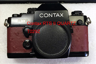 $ CDN21.78 • Buy Contax RTS II QUARTZ Camera Replacement Leatherette Cover Precut Self-adhesive!