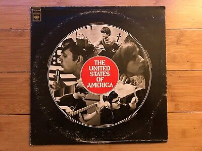 The United States Of America - S/T 1968 Columbia ‎CS 9614 Jacket/Vinyl VG • 36.67£