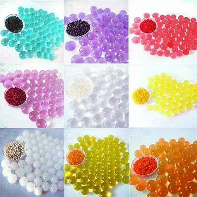 AU6.19 • Buy Metallic Glitter Plain Glow Mini In Dark Orbeez WaterBeads Crystal Gel Soil Ball