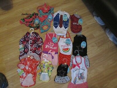 Doggy Costumes/outfits Hawaiian Shirts/dresses/t-shirts Pooch Couture • 3£