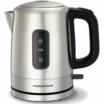 AU48 • Buy Morphy Richards Accents 1L Stainless Steel Compact 1000ml Kettle 101005