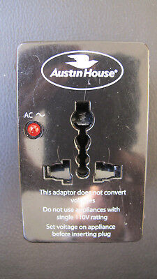 AU8 • Buy A Universal Travel Adapter By Austin House:  UK, Europe, US, Australia, NZ