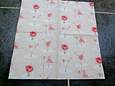 £7.99 • Buy PAPER NAPKINS CATH KIDSTON 10 Ballet Pink 3ply 33 Cm Sq Cards And Decoupage