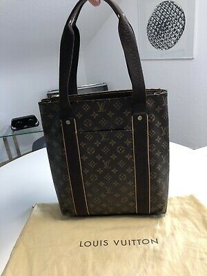 d18a9bf24433f Original LOUIS VUITTON M53013 Beaubourg Monogram Canvas Tasche Shopper Wie  Neu • 659€