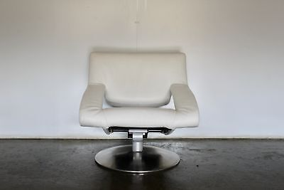£1900 • Buy Sensational Rare Immaculate De Sede DS255/01 Reclining Armchair In White Leather