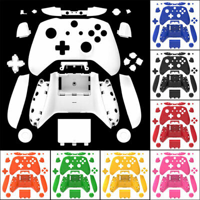 $20.88 • Buy Xbox One S X Controller Shell Case Mod Kit W/ Buttons Full Custom Replacement