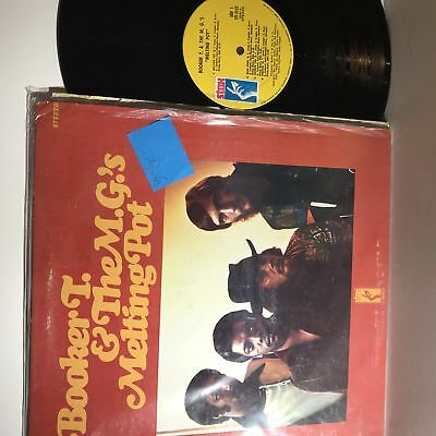 Booker T & The M.G.'s- Melting Pot- Stax STS 2035- VG+-/VG+- Rare Variant • 27.50£